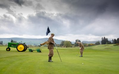 Gleneagles celebrates courses centenary