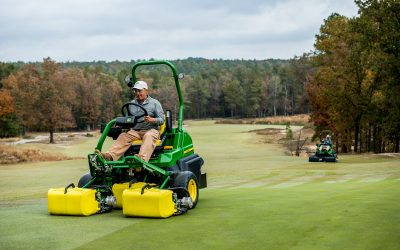 John Deere previews precision mowers at BTME