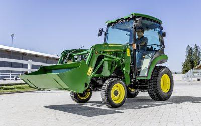 New compact tractors from John Deere