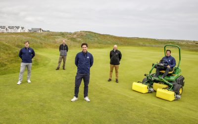 Carnoustie Golf Links announces John Deere partnership