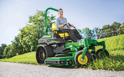 New John Deere ride-on mowers