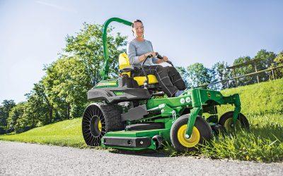 New John Deere ride-on mowers